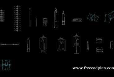 2D Clothes DWG File