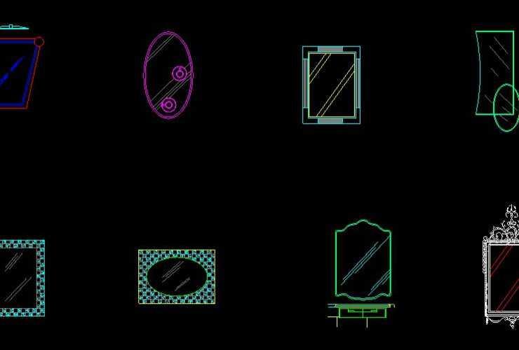 Mirror CAD Block dwg