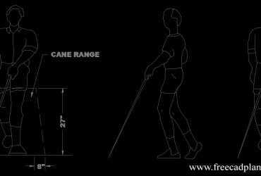 blind man dwg cad