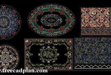 Decorative Pattern dwg