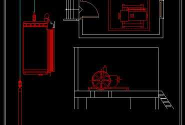 elevator details in autocad