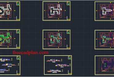 hospital plan dwg