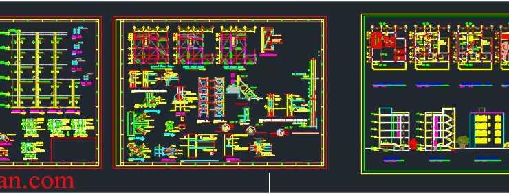 4 level apartment plans