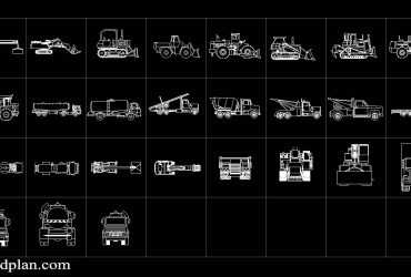 Construction Vehicle DWG