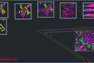 Research center in AutoCAD