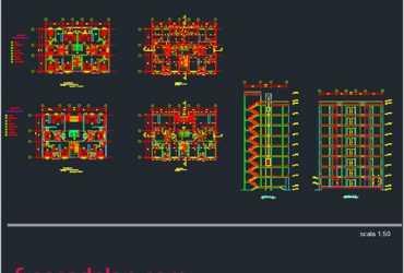 8 storey apartment building
