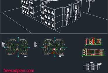 Dormitory dwg plan