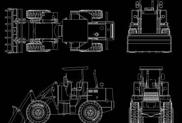 Wheel Loader DWG , LK300A