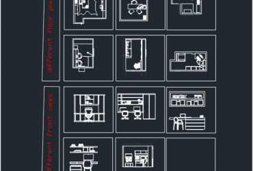 Home office dwg floor plans