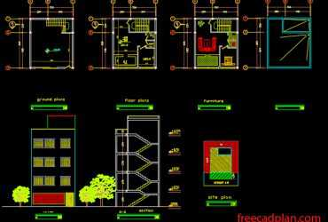 3 floor house plans