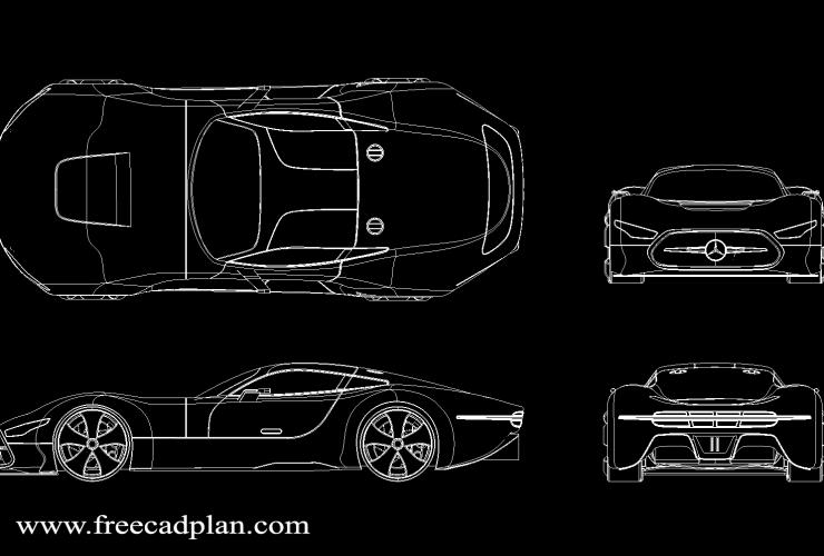 Mercedes Vision GT DWG