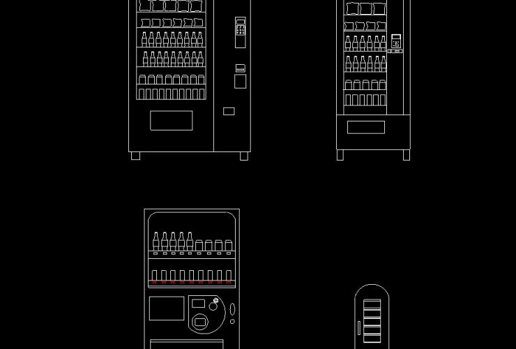 vending machine DWG